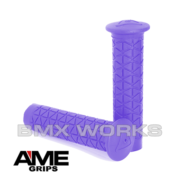 AME Freestyle Tri Grips - Purple Pair