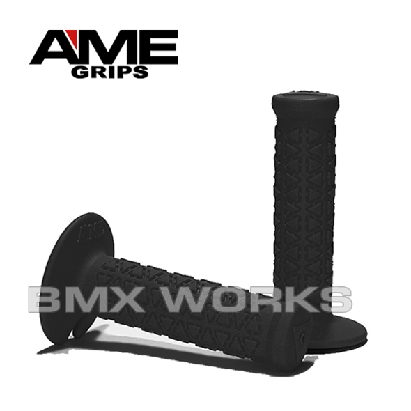 AME Mini Round Grips - Black Pair