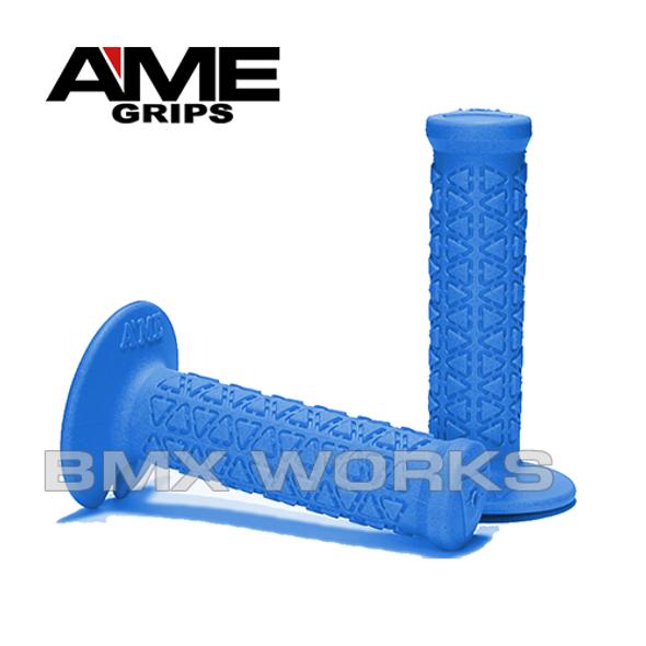 AME Mini Round Grips - Blue Pair
