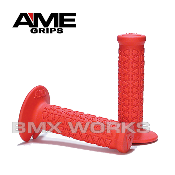 AME Mini Round Grips - Red Pair
