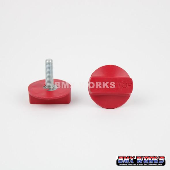 Kool Stop International Brake Pads Refills - Red Sold In Pairs