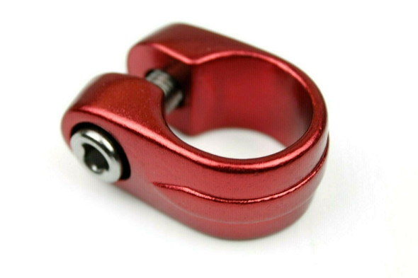 Suntour Style Seat Clamp - 25.4mm Red