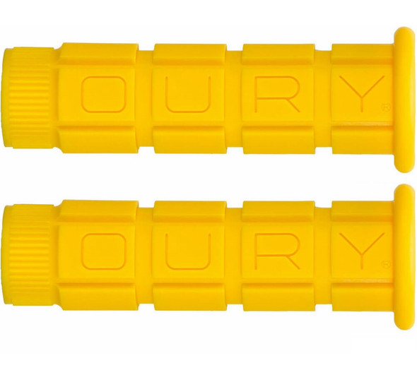 Oury Downhill Freestyle Grips - Yellow Pair