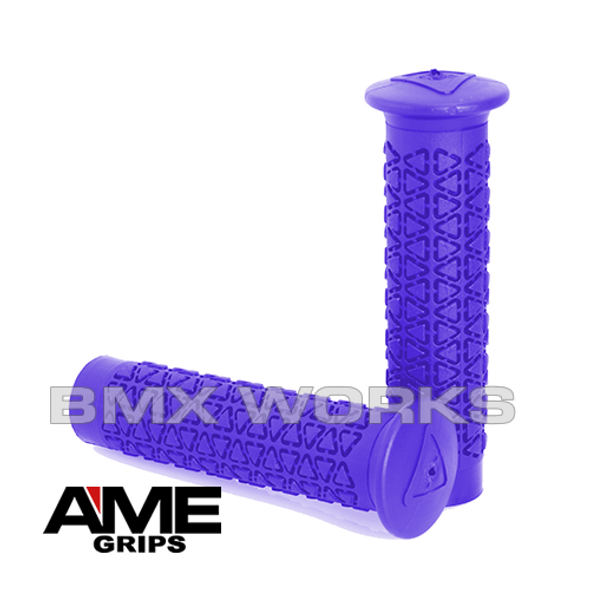 AME Freestyle Round Grips - Purple Pair