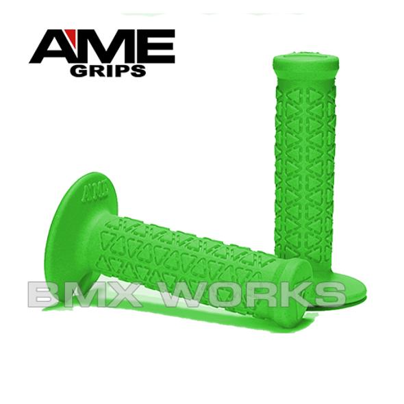 AME Mini Round Grips - Green Pair