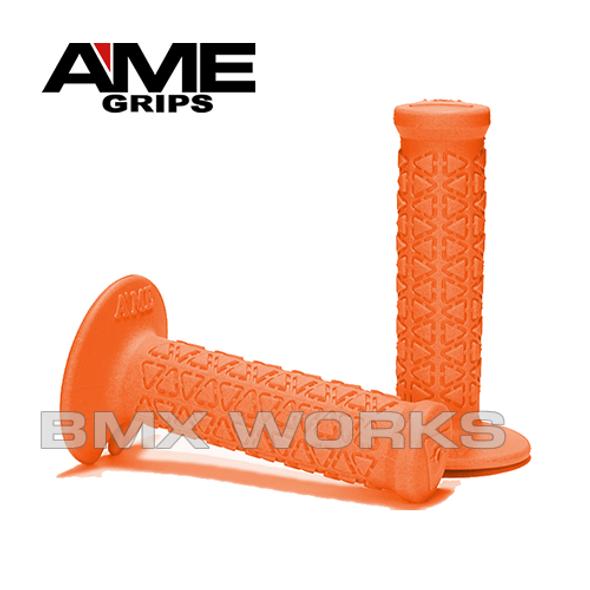 AME Mini Round Grips - Orange Pair
