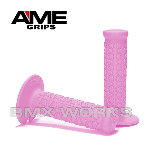 AME Mini Round Grips - Pink Pair