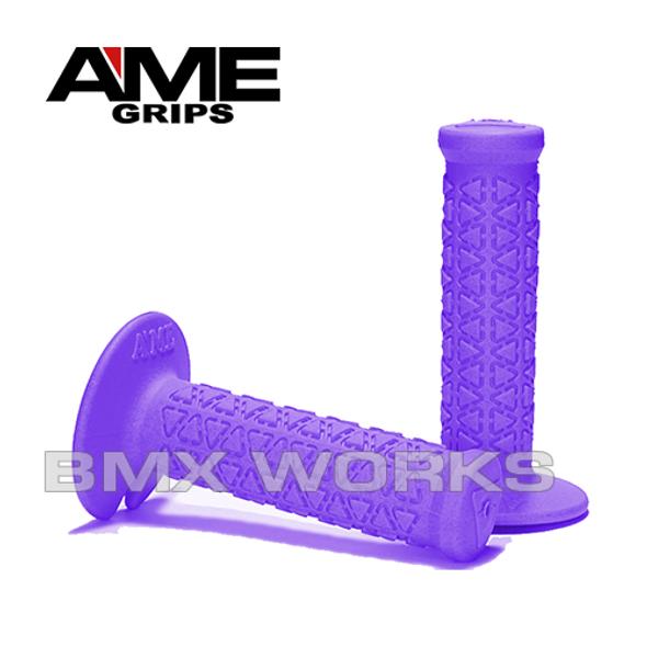 AME Mini Round Grips - Purple Pair