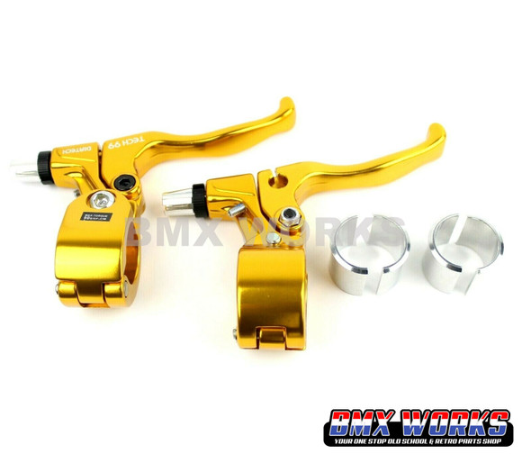Tech-99 Levers Pairs - Gold