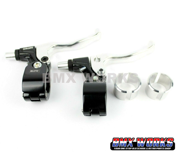 Tech-99 Levers Pairs - Silver & Black
