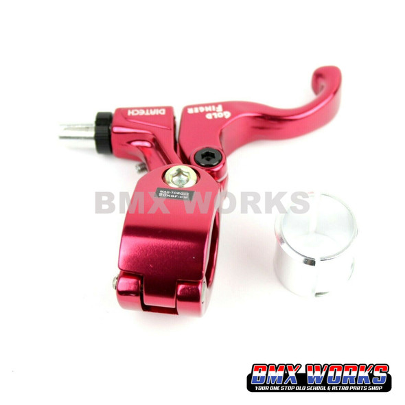 Tech-99 Goldfinger Right Hand Lever - Red