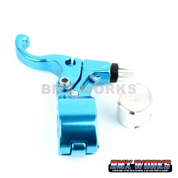 Tech-99 Goldfinger Right Hand Lever - Bright Blue