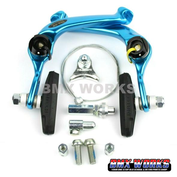 Dia-Compe AD-996 U-Brake Caliper - Bright Blue