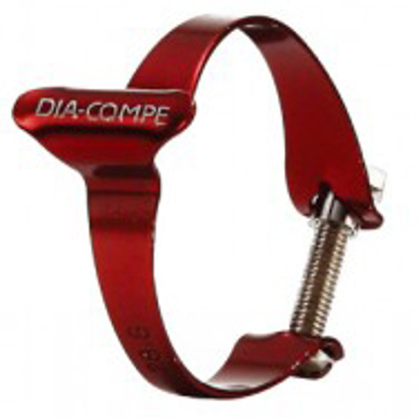 Dia-Compe 25.4mm Cable Clamp Red
