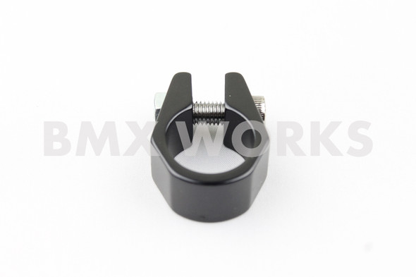 Tuf Neck Style BMX Seat Post Clamp 28.6mm Black