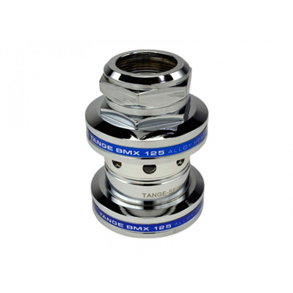 Genuine Tange MX-125 Chrome & Blue Headset