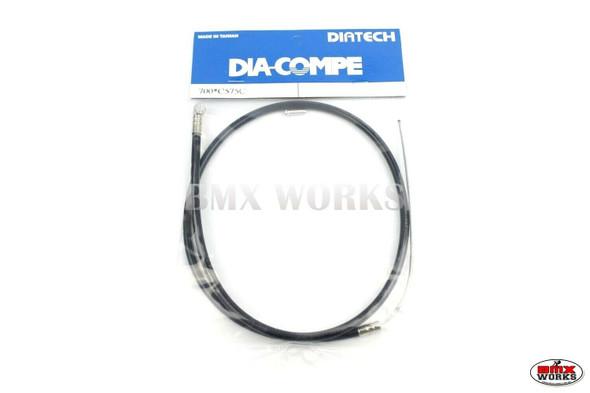 Dia-Compe BMX Logo Front Brake Cable Black