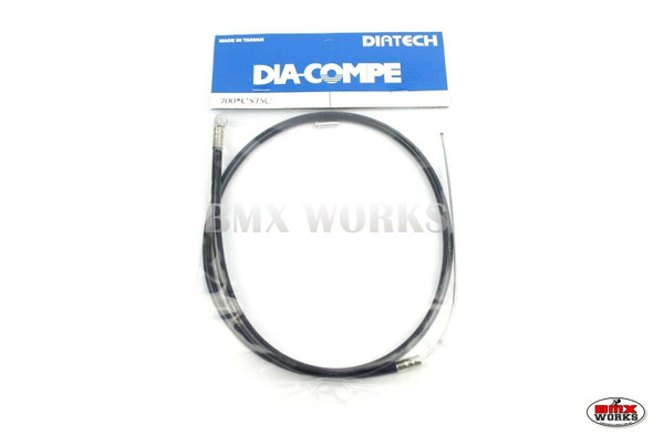 Dia-Compe BMX Logo Front Brake Cable Black