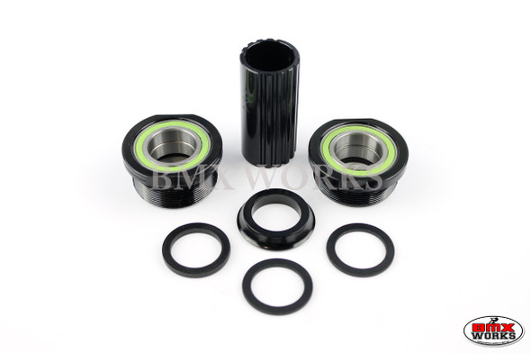 Bottom Bracket Set Euro Suits 19mm Axle