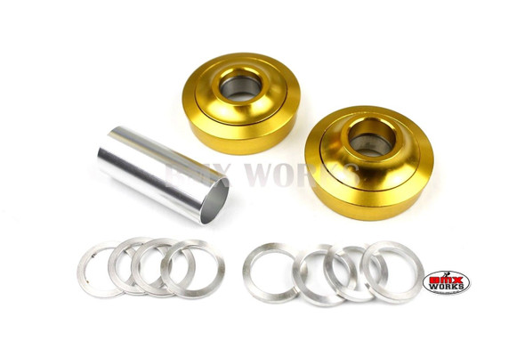 ProBMX American Bottom Bracket Suit 19mm Axle Gold