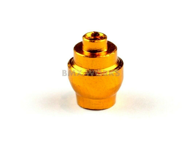 Brake Cable Lever Ferrule Gold