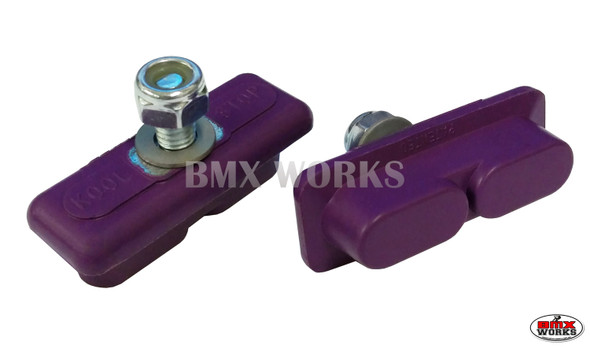 Kool Stop Continental Brake Pads Purple - Sold In Pairs