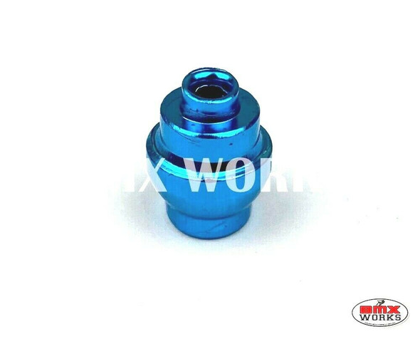 Brake Cable Lever Ferrule Bright Blue