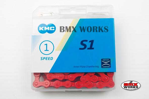 "KMC Z510HX 1//2/"" x 1//8/"" x 112 Link Chain Black Suit BMX"