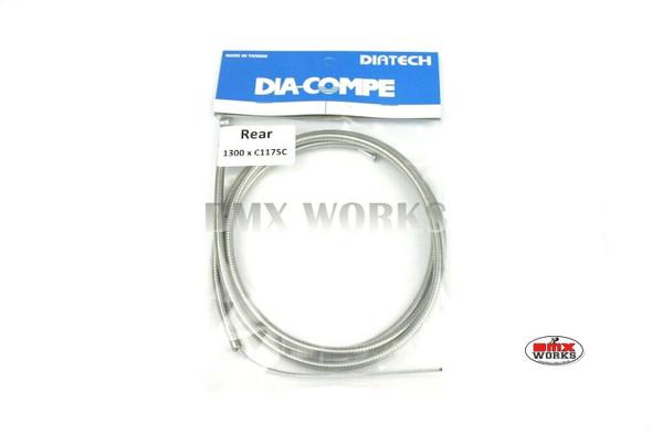 Dia-Compe BMX Logo Rear Brake Cable Clear