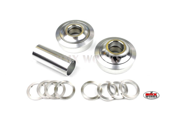 ProBMX American Bottom Bracket Suit 19mm Axle Silver