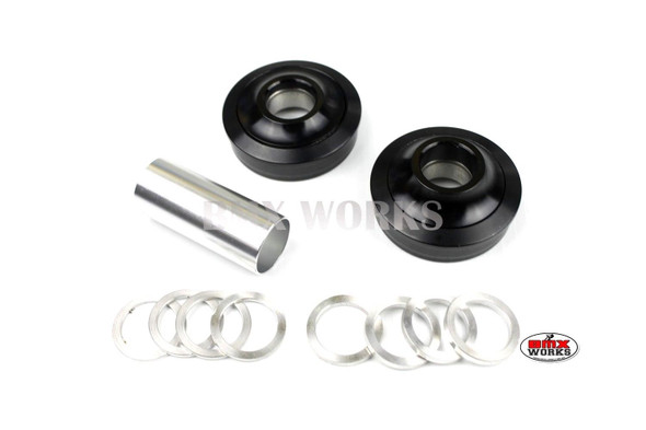 ProBMX American Bottom Bracket Suit 19mm Axle Black