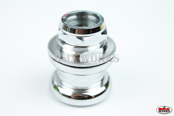 Genuine Tange MX2 Chrome Headset with Stamped Nut