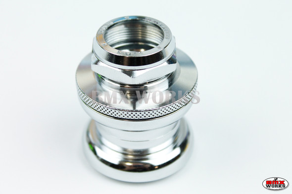 Genuine Tange AW27 Chrome Headset with Stamped Nut