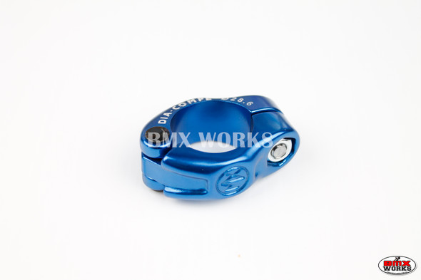 Dia-Compe Seat Clamp MX1500N 28.6mm Dark Blue
