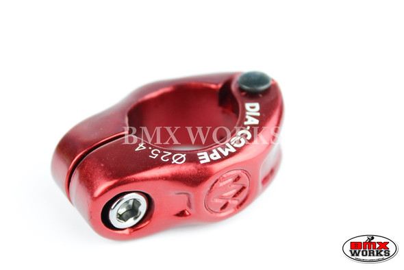 Dia-Compe Seat Clamp MX1500N 25.4mm Red