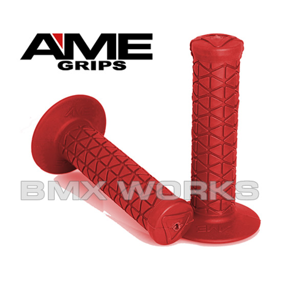 AME Tri Grips Red Pair