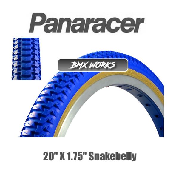 """Panaracer NTKK Snakebelly Tyre 20""""' x 1.75"""" Blue"""