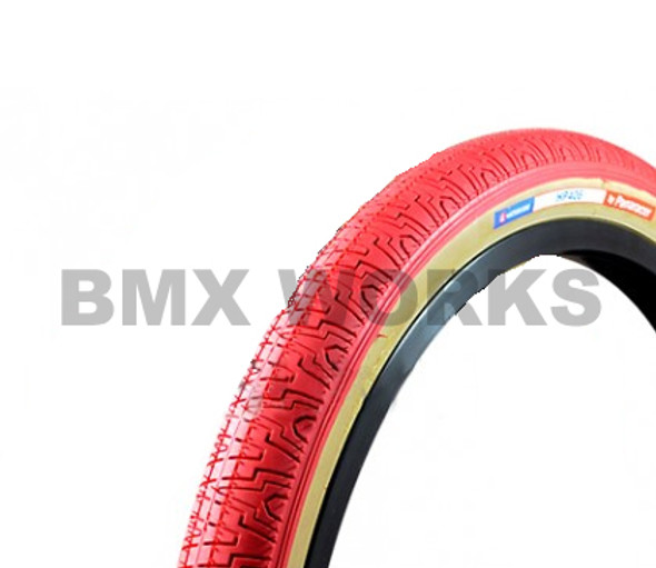 "Panaracer H406 Freestyle Tyre 20""' x 1.75"" Red"