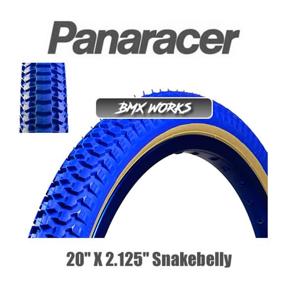 """Panaracer NTKK Snakebelly Tyre 20""""' x 2.125"""" Blue"""