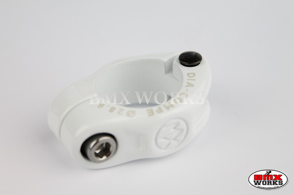 Dia-Compe Seat Clamp MX1500N 28.6mm White
