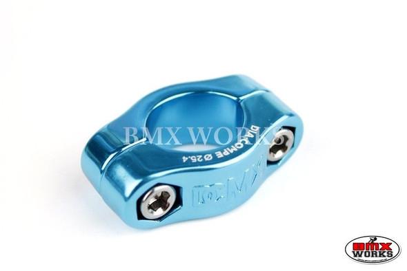 Dia-Compe 2 Bolt Seat Clamp MX1500 25.4mm Bright Blue