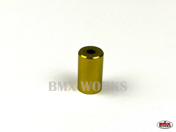 Brake Cable End Ferrule Gold 5mm