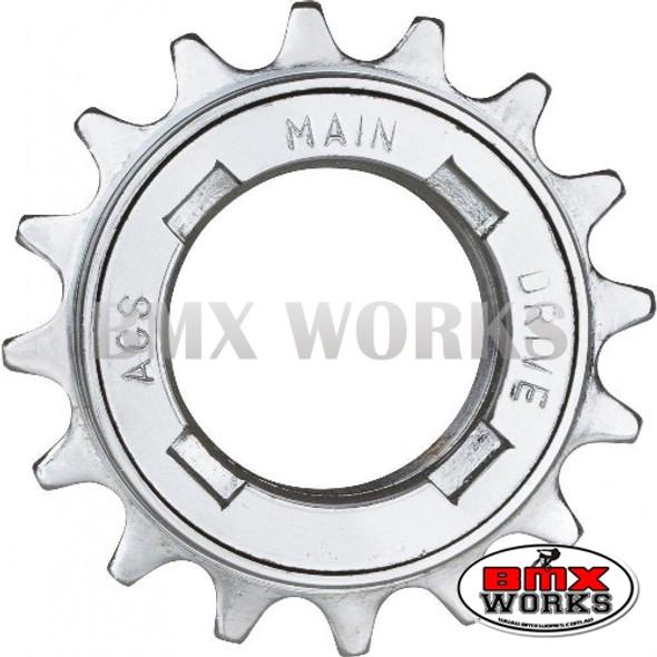 "ACS Maindrive 1/8"" x 16 Teeth Free Wheel"