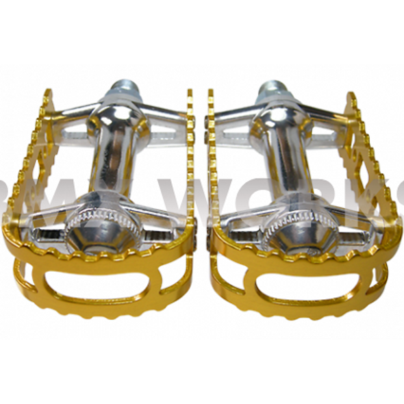 "MKS BM-7 Pedals 1/2"" Gold"