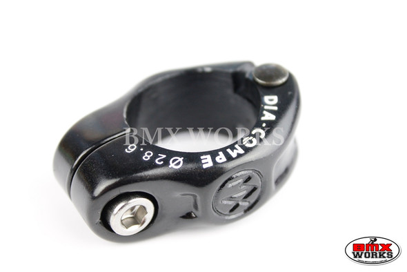 Dia-Compe Seat Clamp MX1500N 28.6mm Black