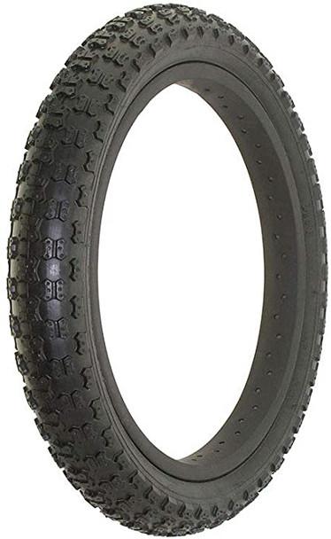 "Duro 16""x 1.75"" Comp III Black Tread - Black Wall Tyre"