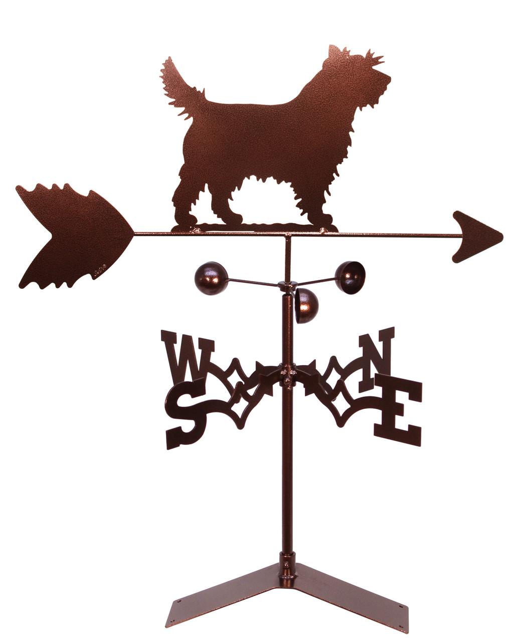 Cairn Terrier Dog Weathervane Swen Products