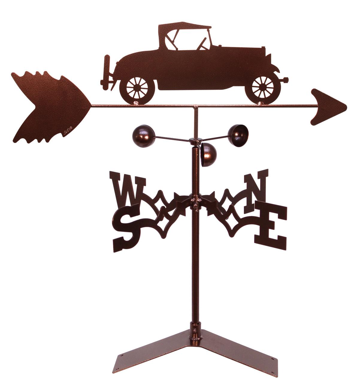 Model A Car Auto Weathervane Swen Products