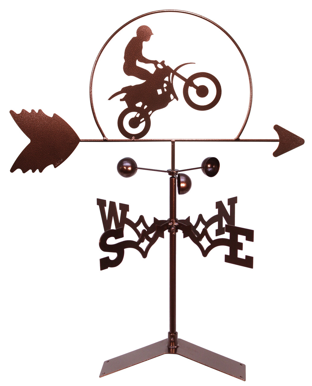 SWEN Products Farrell Series BMX BIKE CROSS X-BIKE Steel Weathervane