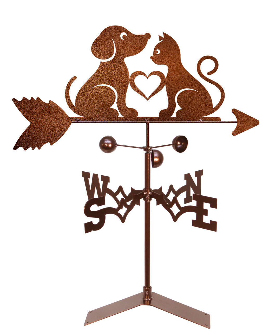 Love Cat And Dogs Weathervane Swen Products